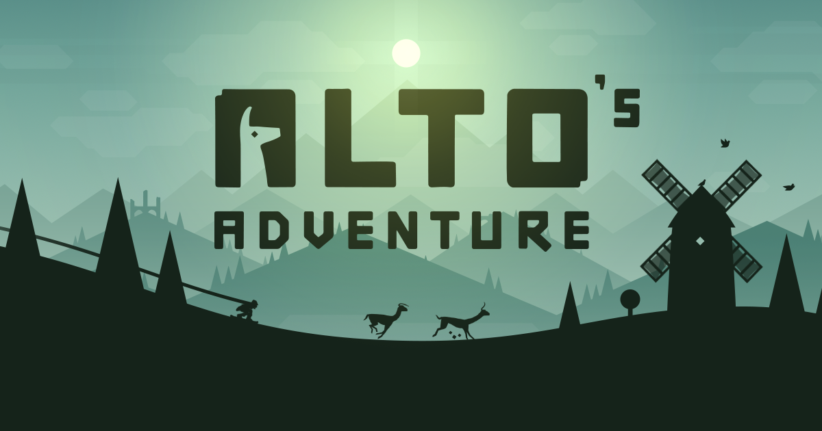 Alto's Adventure - an endless snowboarding odyssey, out now on the App Store
